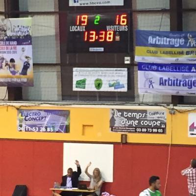 2015-Dernier match SM 1 montée Exc Rég
