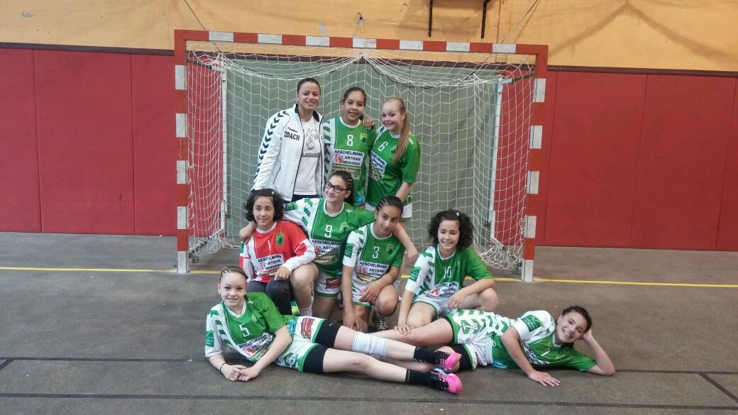 M15 championnes bas-rhin 2015